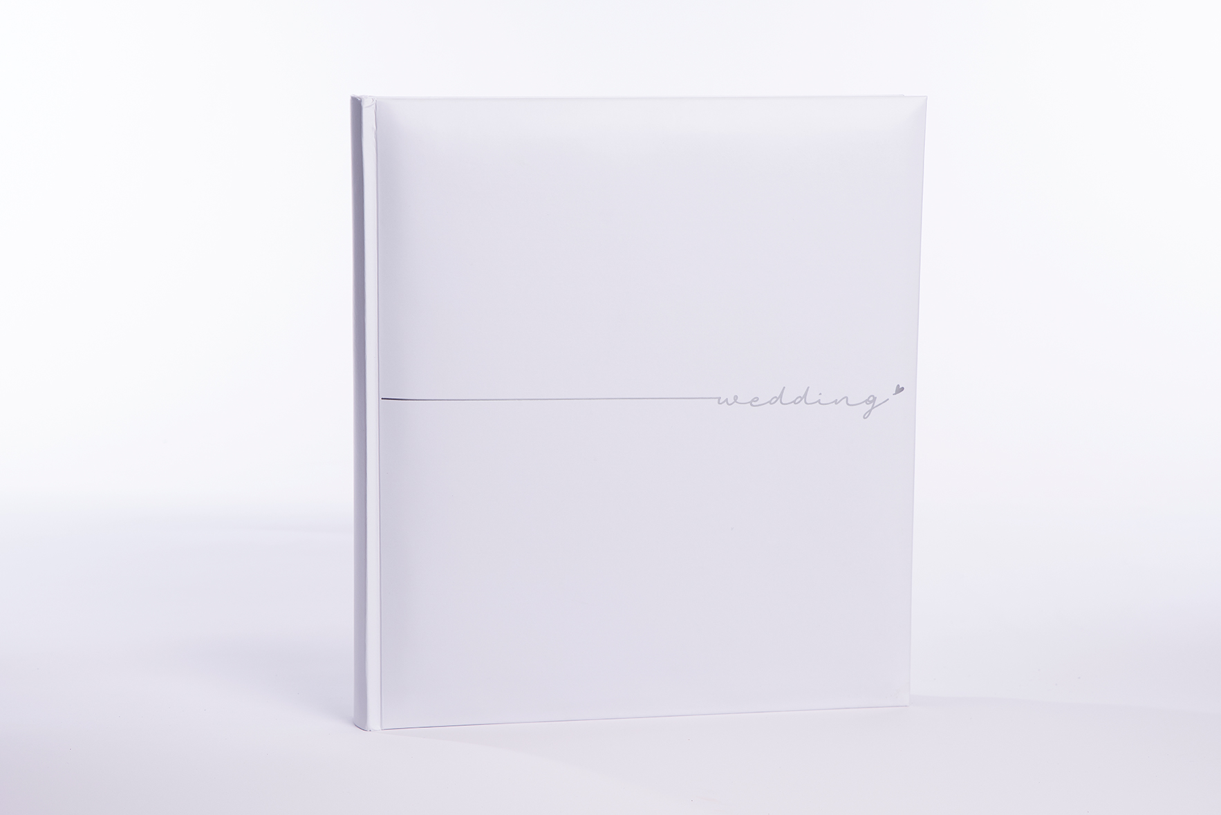 FOCUS Wedding Album Wedding Heart White