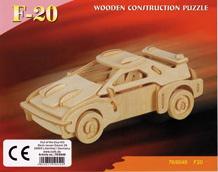 3D puzzle - malé Ferrari F-20