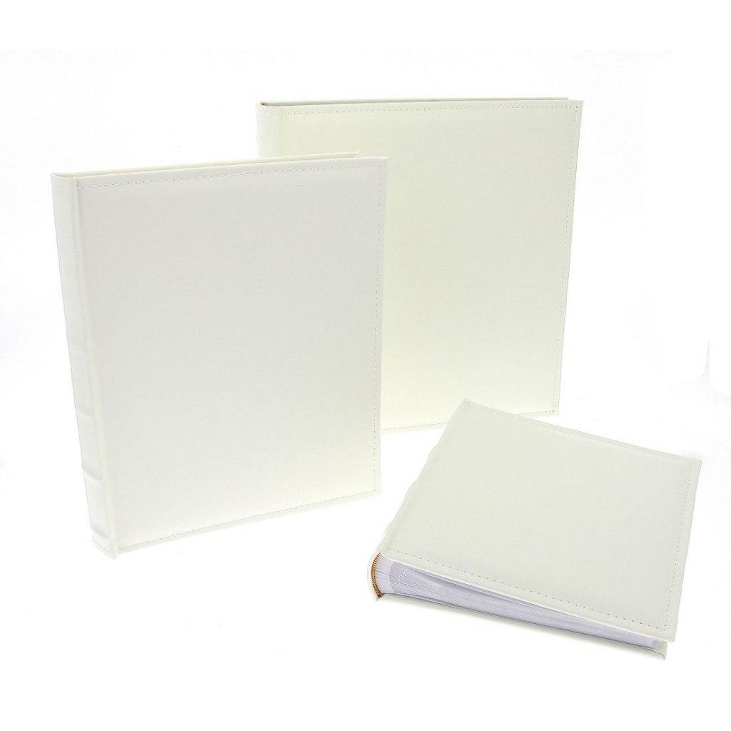 Klasické bílé fotoalbum 29x32cm, 60 stran