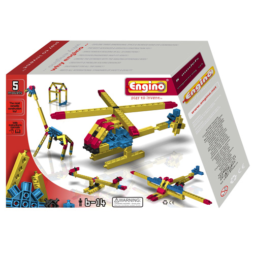 ENGINO 5 Models Engineering Set