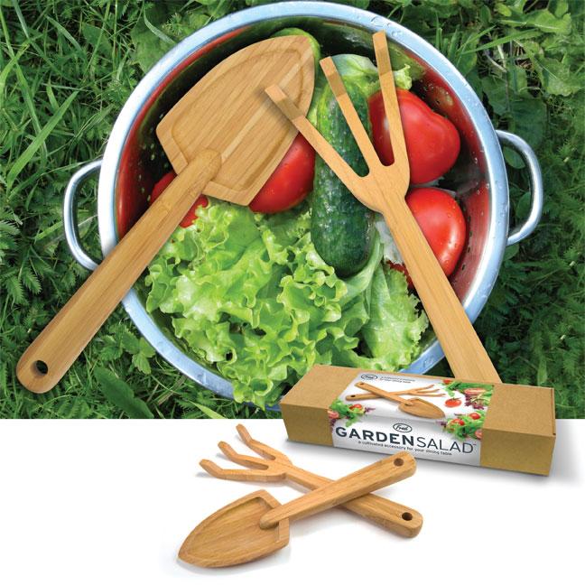 Salátové servírovací nástroje - zahradní