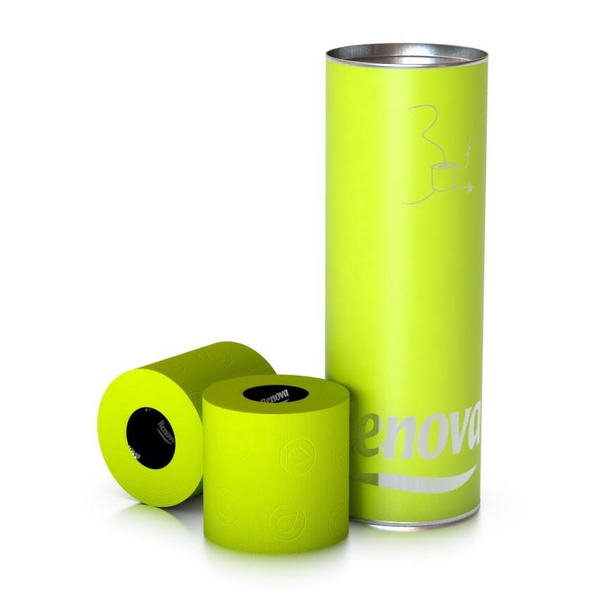 Luxusní toaletní papír zelený (B37)